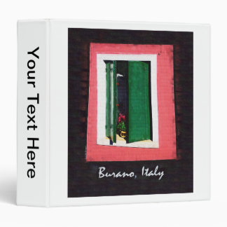 Burano Italy Binder