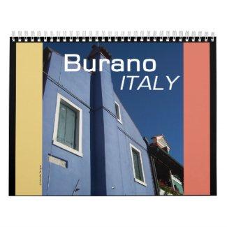 Burano Italy Calendar