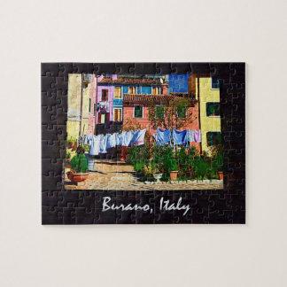Burano Italy Jigsaw Puzzle