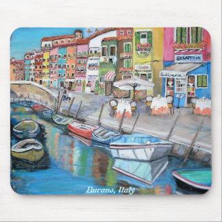 Burano, Italy - Mousepad