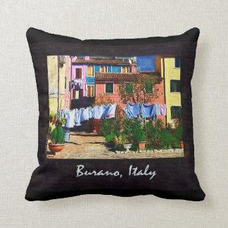 Burano Italy Pillow