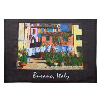 Burano Italy Placemat
