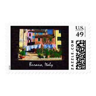 Burano Italy Postage Stamp