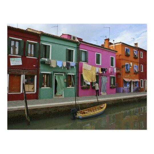 Burano, Italy Postcard