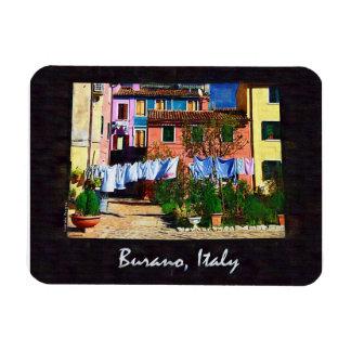 Burano Italy Rectangular Photo Magnet