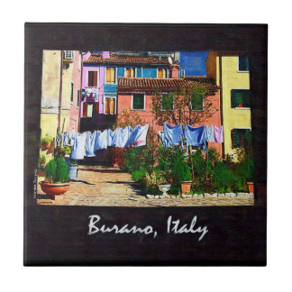 Burano Italy Tile