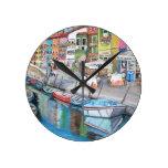 Burano, reloj de pared de Venecia