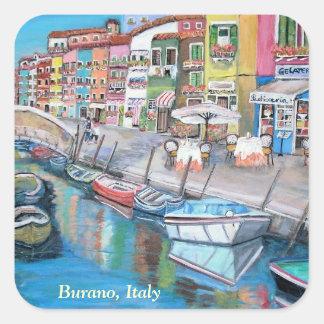 Burano, Venecia - pegatina