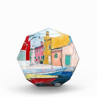 Burano Vienna Italy Acrylic Award