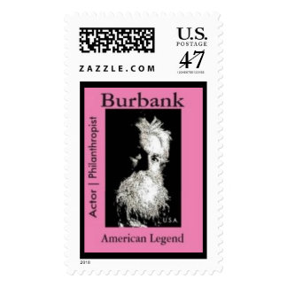 Burbank Actor | Philanthropist American Legend Postage Stamp