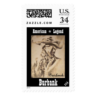 Burbank American Legend Postage Stamps