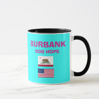 Burbank* Bob Hope BUR Airport Code Cup