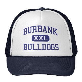 Burbank - Bulldogs - High - Burbank California Mesh Hats
