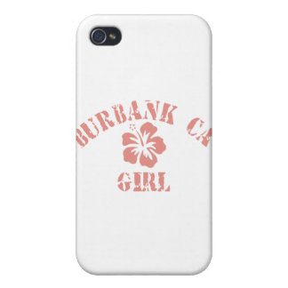 Burbank CA Pink Girl iPhone 4/4S Cases