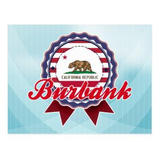 Burbank, CA Postcard
