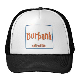 Burbank California BlueBox Hats