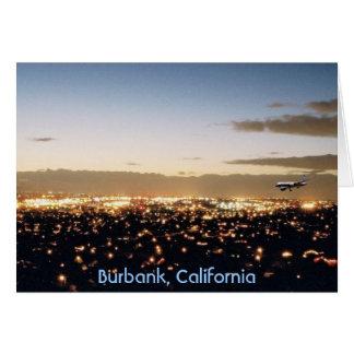 Burbank, California Tarjeta De Felicitación