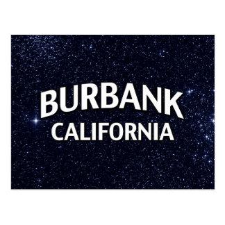 Burbank California Tarjeta Postal