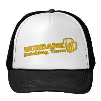 Burbank Drinking Team tee shirts Trucker Hats