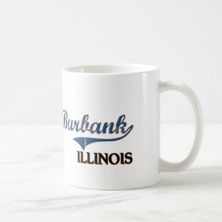 Burbank Illinois City Classic Coffee Mugs