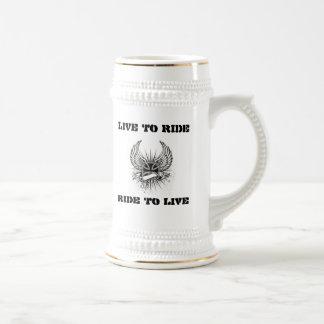 Burbank Mug Live To Ride