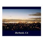 Burbank Nightscape, Burbank, CA Postal