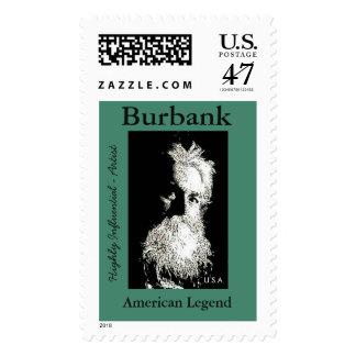 Burbank Post Stamp