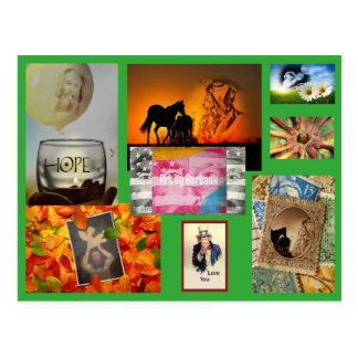 Burbank Postcards - Art by Burbank
