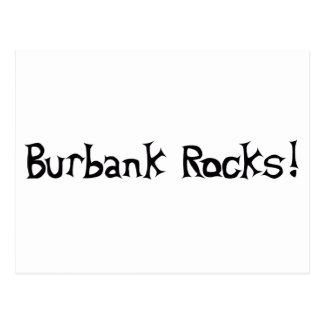 Burbank Rocks Postcard