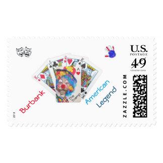 Burbank The Tramp American Legend Stamp
