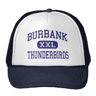 Burbank Thunderbirds Middle Boulder Colorado Mesh Hats