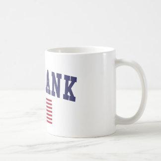 Burbank US Flag Coffee Mug