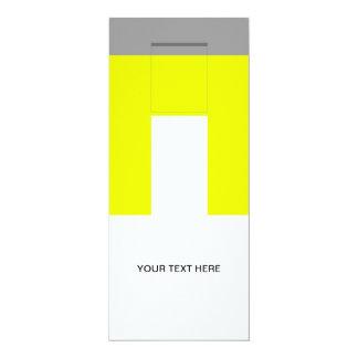 Burble 4x9.25 Paper Invitation Card