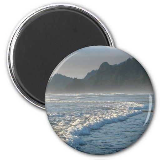 Burbling Foam 2 Inch Round Magnet