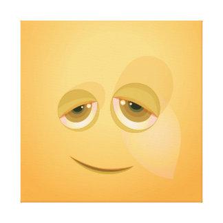 Burbuja amarilla de Cutie Impresiones De Lienzo
