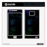 Burbuja azul/verde de la piel de la galaxia S II d Samsung Galaxy S II Skins