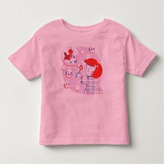¡Burbuja, chica! Camiseta de los niños Remeras