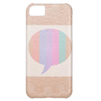 Burbuja de la CHARLA: Compre en blanco o añada el  Funda Para iPhone 5C