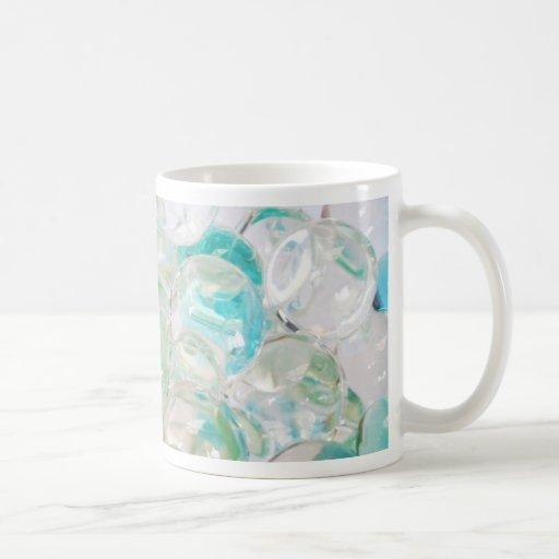 Burbuja de la jalea del aroma tazas de café