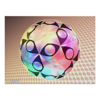 Burbuja dodecaédrica posters