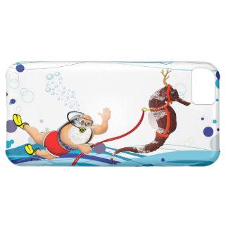 Burbuja Papá Noel y Seahorse