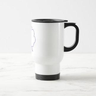 Burbuja vacía #1 del discurso taza de café