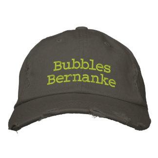 Burbujas Bernanke Gorra Bordada