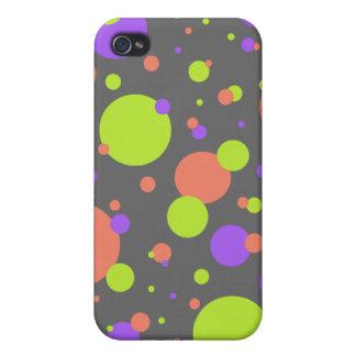 Burbujas brillantes Caso de IPhone 4 iPhone 4 Cárcasa