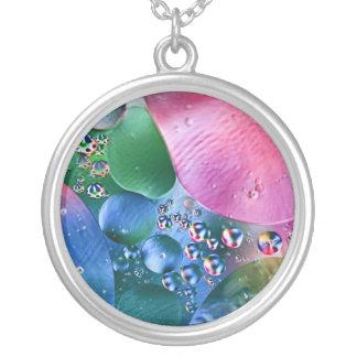 burbujas coloridas, collar