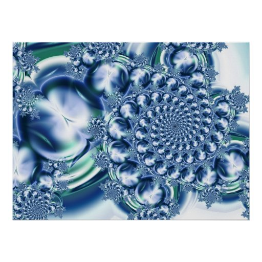 Burbujas congeladas poster