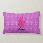 Burbujas conocidas personalizadas de la púrpura almohadas