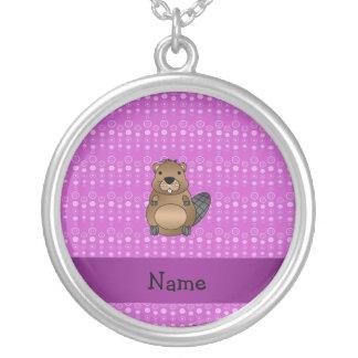 Burbujas conocidas personalizadas de la púrpura de collares