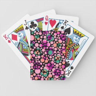 Burbujas cósmicas cartas de juego