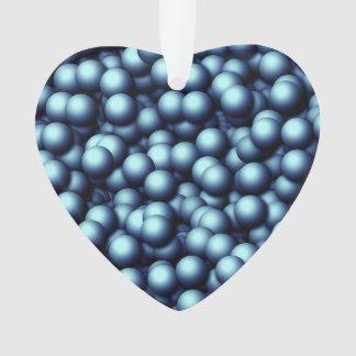 Burbujas cremosas, azules
